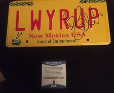 Bob Odenkirk Signed Autographed License Plate Breaking Bad Jimmy Beckett Coa