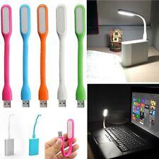 LAMPARA LED USB FLEXIBLE PARA PORTATIL ORDENADOR PC TECLADO LINTERNA FOCO LUZ