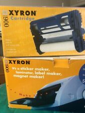 Xyron Model 900 Laminator, Sticker/Label/Magnet Maker w/ 2 cartridges