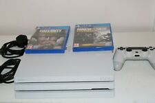 White PlayStation 4 Pro Ps4 1TB With Controller and Games ,  Fast Dispatch!