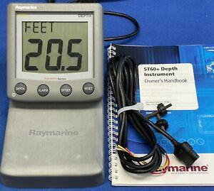 Raymarine ST60+ Depth Instrument Display A22002-P Raytheon Autohelm