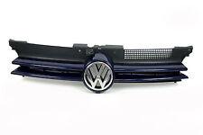 original VW GOLF IV 4 Kühlergrill Chrom blau Emblem Frontgrill Grill KFZ