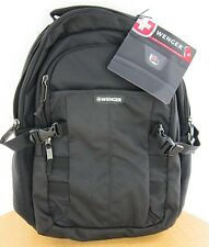 """New  Wenger 'Response' 16"""" Computer Backpack -  Black - New with Tags"""