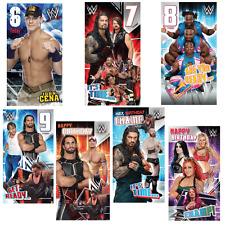 WWE Wrestling Birthday Cards -  JOHN CENA UNDERTAKER SETH ROLLINS FREE P&P