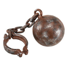 Jumbo Ball and Chain Stag Hen Night Convict Halloween Fancy Dress Prop