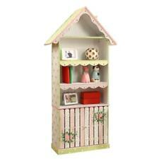 Kids Bookshelf Toy Furniture Crackled Rose Home Decor Furniture 3 Full Shelves