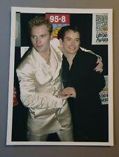 More details for boyzone original promo press photo ronan keating stephen gately rare (39)
