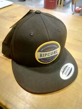 CAPPELLINO VISIERA SNAPBACK RIP CURL AUTHENTIC Black