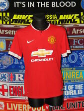 4/5 Manchester United adults L 2014 football shirt jersey trikot
