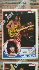 Custom Art Rock Music Baseball Trading Cards 1983 Van Halen US Festival Era Lot