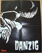 Slipknot   /   DANZIG  __  1 Poster / Plakat  __   45 cm x 58 cm