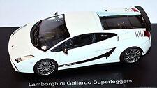 Lamborghini Gallardo Superleggera 2007 Blanco Blanco Metálico 1:43 AUTOART