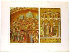 Stampa antica Basilica San Marco Cappella Mascoli VENEZIA 1920 Old Print VENICE