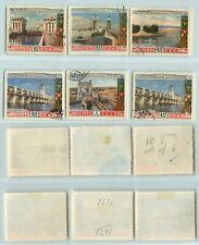 Russia USSR, 1953 SC 1666-1671 used. rtb2134