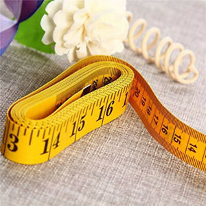 """3m/120"""" Flat Tape Measure for Body Measuring Ruler Tailor Sewing Cloth Soft New"""
