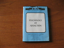 FMS PRODUCTIONS DVD - PSYCHOLOGY OF ADDICTION DRUG TREATMENT FILM VIDEO USED OK