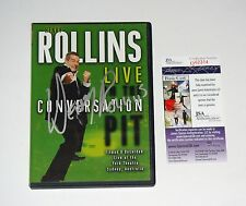 Henry Rollins Signed Live In The Conversation Pit DVD JSA CERT FREE SHIPPING