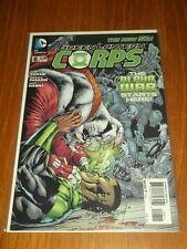 GREEN LANTERN CORPS #8 DC COMICS NEW 52 NM (9.4)