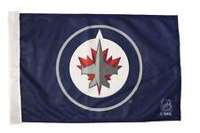 "WINNIPEG JETS NHL Hockey Logo 12"" X 18"" Inch CAR STICK FLAG BANNER WITHOUT POLE"
