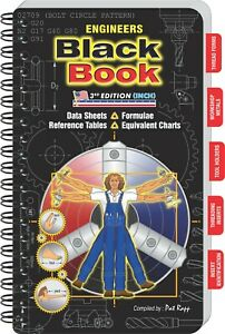 Engineers Black Book CURRENT Edition for 2021 (INCH VERSION)