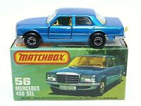 Matchbox Lesney Superfast No.56e Mercedes 450 SEL In Type 'K' Without 'NEW' Box