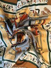HERMES silk scarf Retour a la Terre