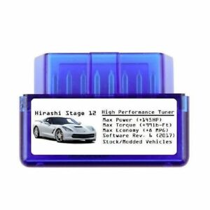 Stage 12 Performance Tuner Power Chip [ Add 130 HP 8MPG ] Best Tune for Toyota