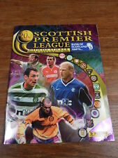 ALBUM PANINI SOCCER SCOTTISH LEAGUE SCOTLAND 2001 full / complete Mint