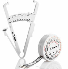 KTX7® Körperfettzange Fettmesszange Fat Caliper Körperfettmessgerät Fettzange