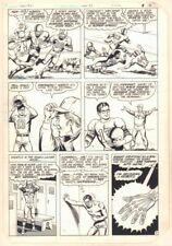 New Adventures of Superboy #41 p.7 - Football - 1983 art by Kurt Schaffenberger Comic Art