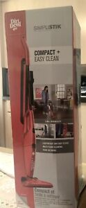 Dirt Devil SD20000RED Simpli-Stik Vacuum Cleaner 3-in-1 Hand and Stick Vac Small