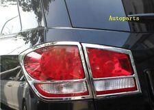 Dodge Journey FiAT Freemont 2012-2017Chrome Rear taillight lamp cover trim Frame