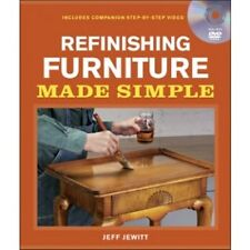 Refinishing Furniture Made Simple signed by the author Jeff Jewitt