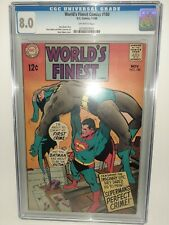 DC World's Finest Comics #180 Cgc 8.0 1968 Neal Adams Cover FREE SHIPPING