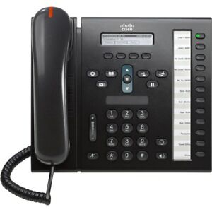 Cisco 6961 12-Line Unified IP Phone PoE CP-6961-C-K9