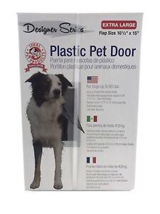 Ideal Pet Products Designer Series Plastic Pet Door EXTRA LARGE