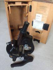 Reduziert!!! Leitz Wetzlar Antikes Mikroskop Original 1945 !!!! Selten Museal