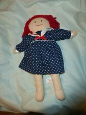 2003 Madeline Doll Fabric with Eden Polka Dot Dress