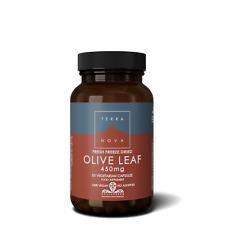 Terranova Olive Leaf 450mg 50 Veg Capsules