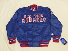 NEU*NEW YORK RANGERS STARTER CASUAL BOMBER USA NHL JACKE*VINTAGE*GR: M*NEU