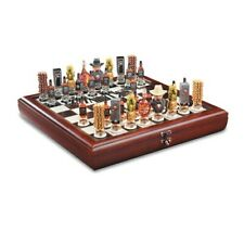 Jack Daniel's Wooden Lynchburg Chess Set