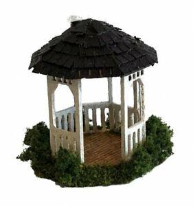 Dollhouse Miniature 1/144th Scale Gazebo complete  Kit for Garden  Outdoor Patio