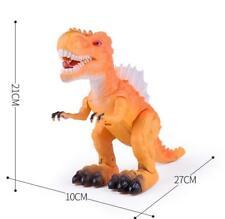 T-Rex Tyrannosaus Dinosaur Figure Walks Roars Light Sound Gift Jurassic Kids Toy
