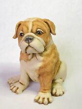 Harmony Kingdom artist Neil Eyre Designs K9 English Bulldog Brindle Dog Puppy