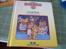 Teddy Ruxpin Grunge Music book only Great Condition
