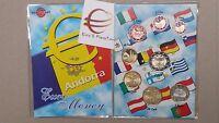 2014 2017 2018 2019 ANDORRA 8 monete 3,88 EURO fdc UNC andorre андорра 安道尔 アンドラ