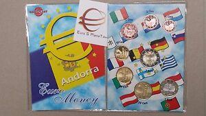 2014 2017 ANDORRA 8 monete 3,88 EURO fdc UNC andorre андорра 安道尔 アンドラ 안도라