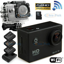 Wifi Sports Cam Sj4000 1080P Hd Video Action Camera Camcorder+ 8Gb Micro Sd Card