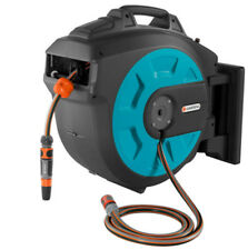 Gardena Wall-Mounted 35m Hose Box with Auto Roll-Up