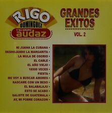 Rigo Dominguez y su Grupo Audaz Grandes exitos Vol 2 CDNew Nuevo Sealed